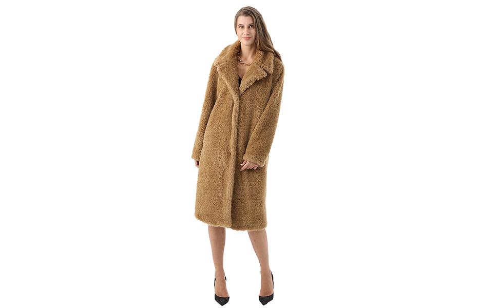 Faux Fur Coat Women