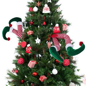 Elf Legs for Christmas Tree