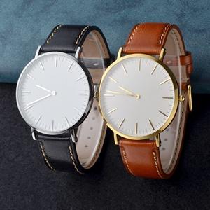 wocci watch bands strap bracelet belt for men women leather 18 20 22 accessories buckle pin black