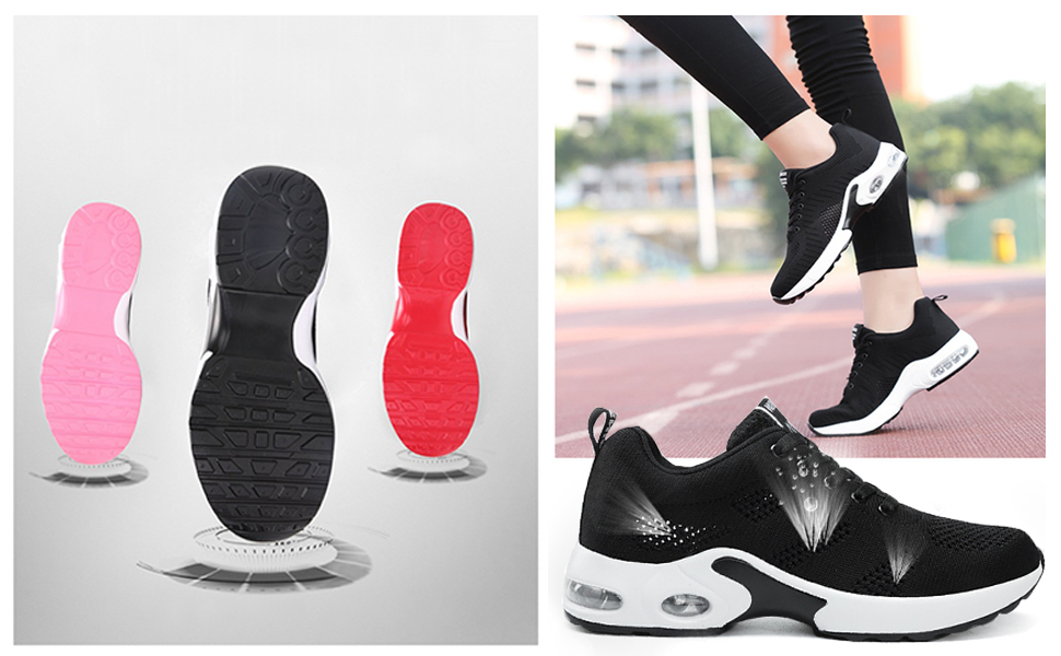 women running trainer shoes