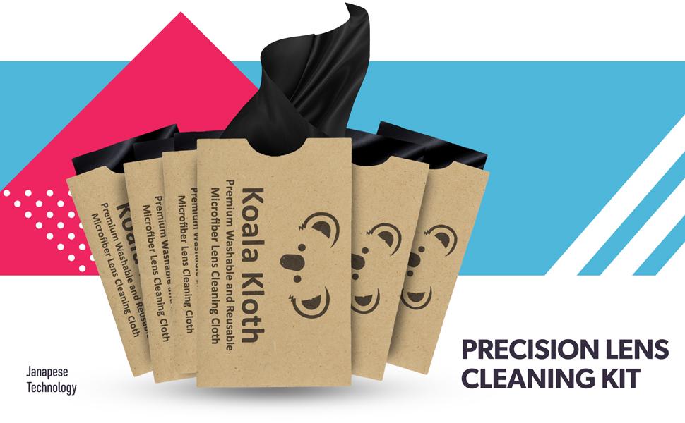 Precision Eyeglasses Lens Cleaning Kit