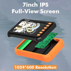 IPS borescope camera