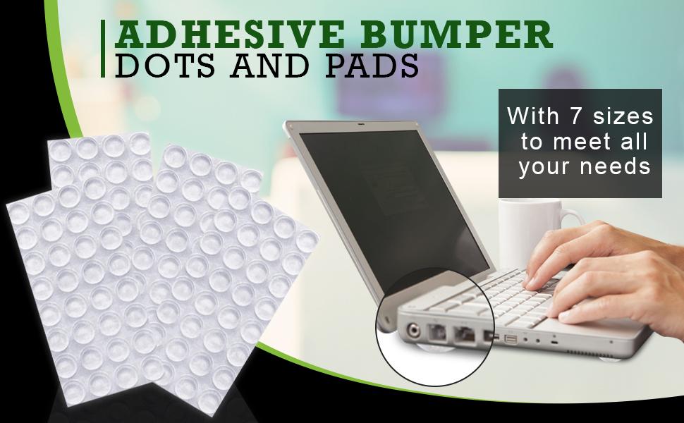 muebles Pies de goma para altavoces Fabricado en Estados Unidos electrodom/ésticos equipos de audio electr/ónica 20 almohadillas de goma para parachoques transparentes cuadradas