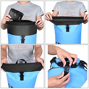 PVC Beach Bucket Bag