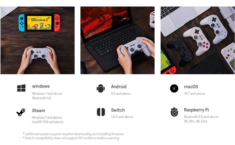 wireless bluetooth controller for macos gaming controller game controller bluetooth nintendo switch