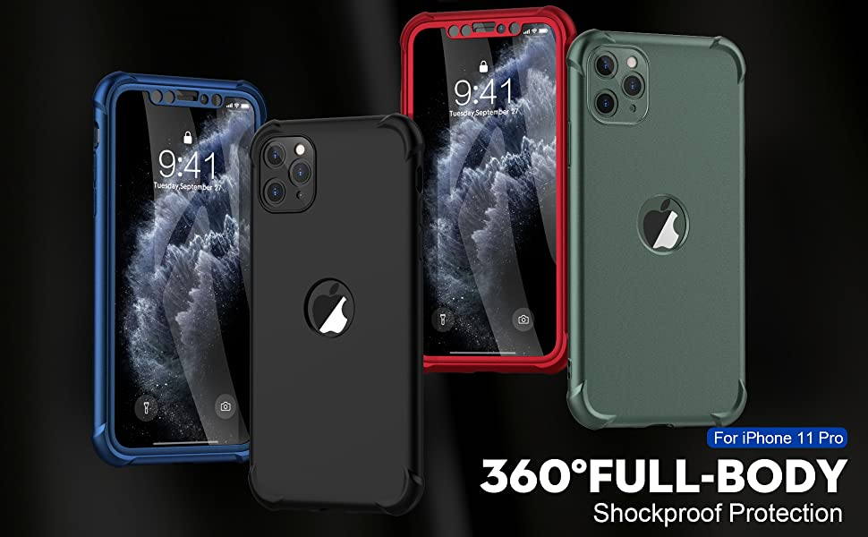 ORETech 360° Full Body Case,Make it Safer for Your iPhone.