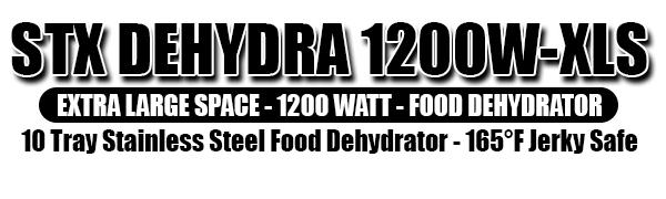 Dehydra 1200W - Top Logo Panel