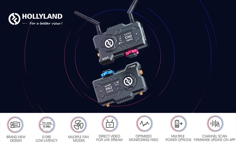 Hollyland Mars 400S Pro 1080p HDMI&SDI Transmission System