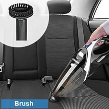 Brush vacuum