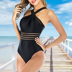 Front Crossover Swimwear