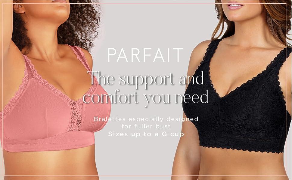 Bralettes for full bust. plus size bralette, full figure bra