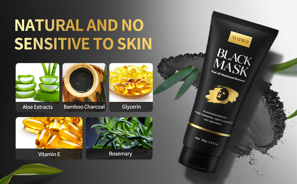 Purifying Charcoal Peel off Face Mask