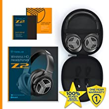 Z2 sound cancelling headphones: Box contents