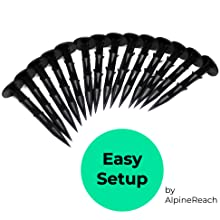 AlpineReach Koi Pond Netting Kit Easy Setup