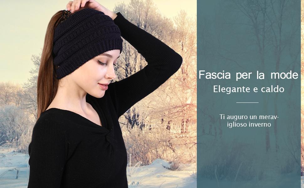 Donna Tinta Unita Fascia Capelli 4cm Largo per Cerchio Accessori Festa Clubwear