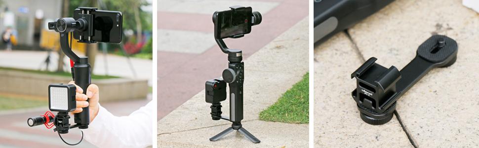 gimbal microphone mount