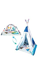 Teepee play gym