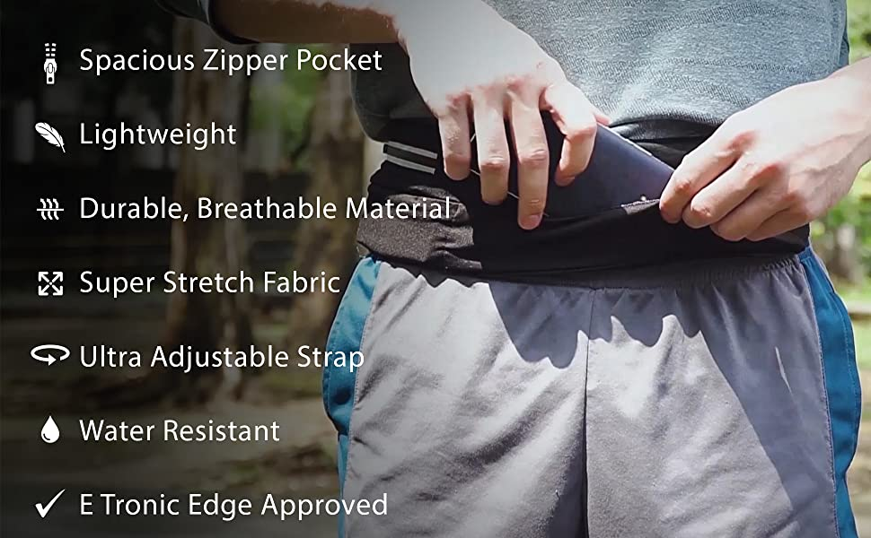 adjustable lightweight stretch fit