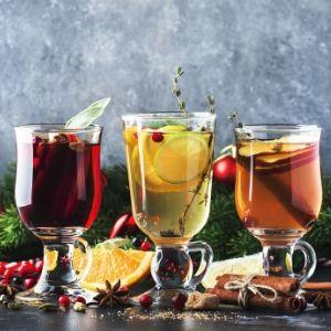 Mulling spice Fruit juice, wine, apple cider