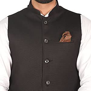 round collar nehru jacket slim fit regular fit formal party casual waistcoat solid color summer