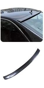 Benz W204 C180 C200 C250 C300 C63 Sedan 2008-2014 Rear Roof Window Visor Spoiler