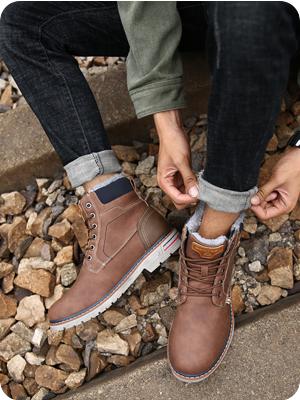 mens warm boots
