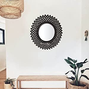 Mirror in home wall mirror wall decor black mirror