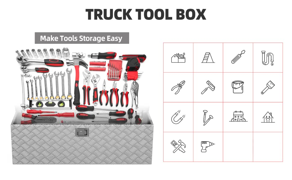 Pickup Truck Bed Storage Toolboxes