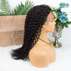 lace front human hair wigs curly