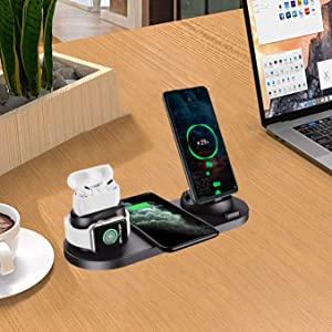charging stands for iphone and apple watch