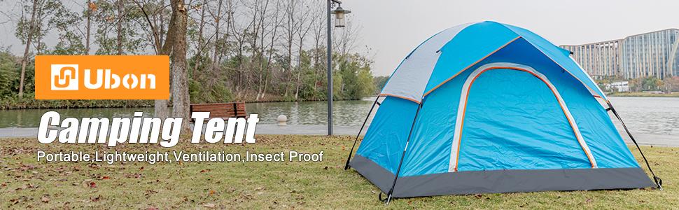 Ubon 2 Person Camping Tent