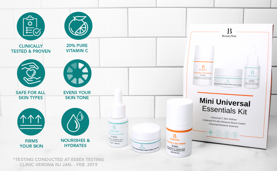 BeautyStat Mini Universal Essentials Kit Benefits