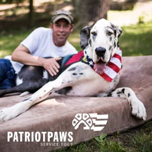 Big Barker is proud to provide orthopedic dog beds to service dog organizations to protect joints