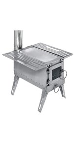 wood stove for tent