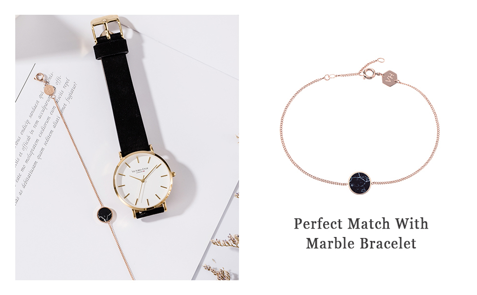 women watches ladies wristwatch genuine leather strap gifts for her victoria hyde women watches