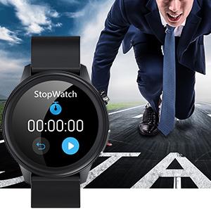 Smartwatch mit Stoppuhr für Herren