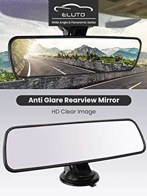 ELUTO Anti Glare Rearview Mirror