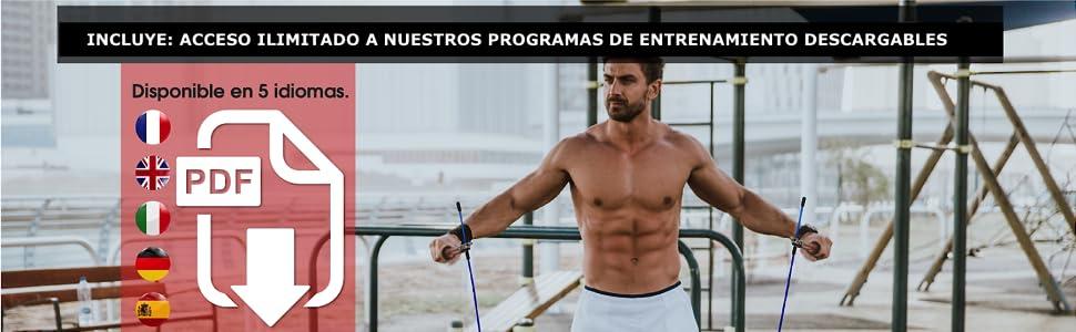 programa de entrenamiento para saltar la cuerda