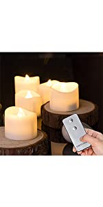 remote tea lights led battery homemory
