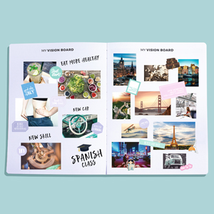 clever fox planner pro vision board