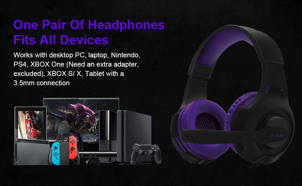 PS4 Headsets for many devices