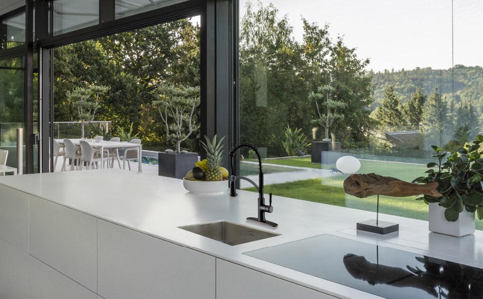 commercial kitchen faucet