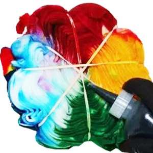 Tie Dye Popular Print