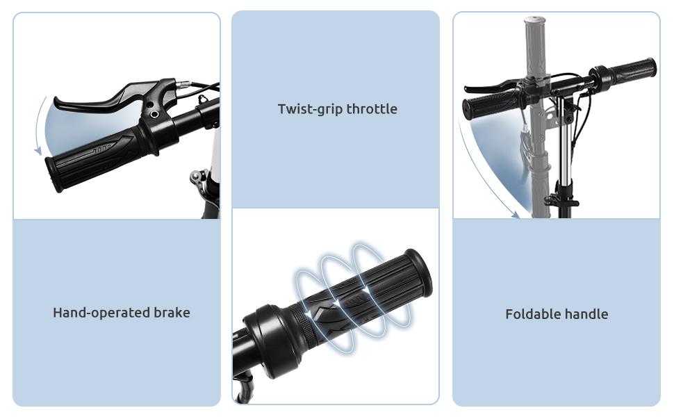 throttle brake handle