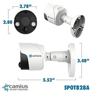 camius spotlight security cameras