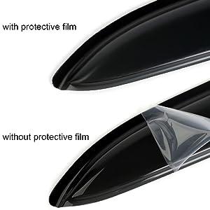 waterproof design visors side cab