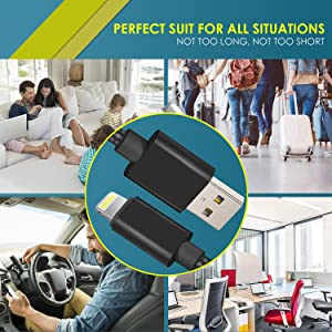 lightning cable for home, fast charging cable,