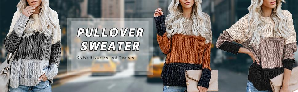 Color Block Sweaters