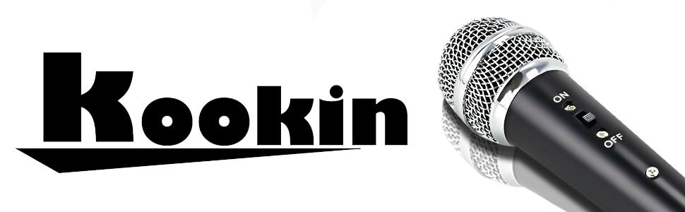 KOOKIN Professional 3.5mm Condenser Microphone