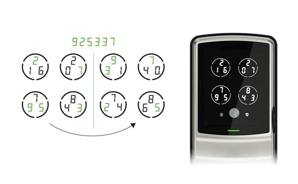 PIN Genie, Smart lock, smart lock deadbolt, smart lock latch, fingerprint lock